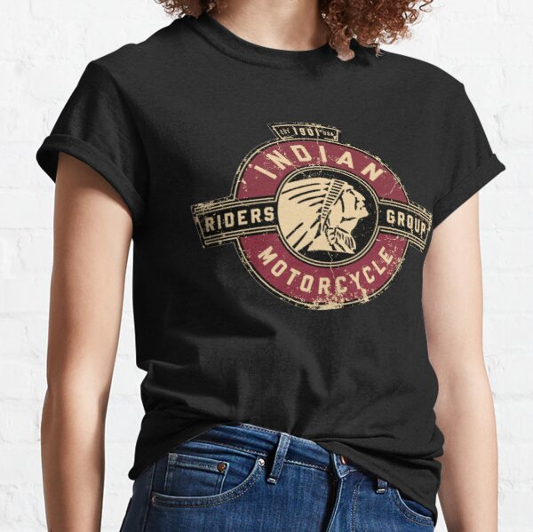 Indian Motorcycle EST.1901 Vintage Riders Logo distressed Motorrad  USA Classic T-Shirt