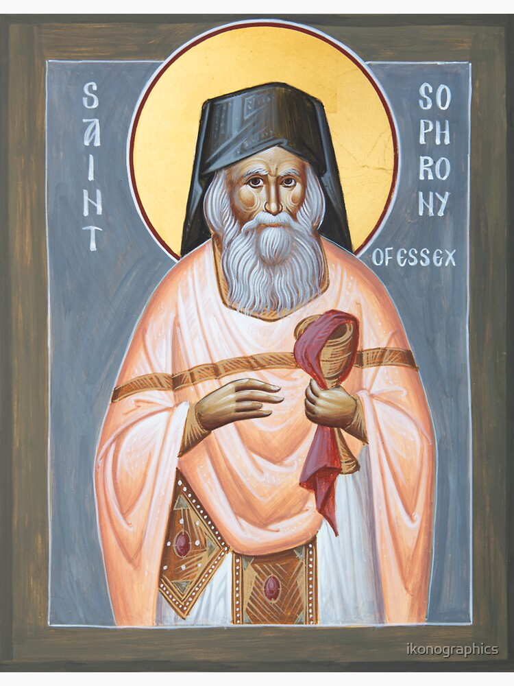 St Sophrony of Essex by ikonographics