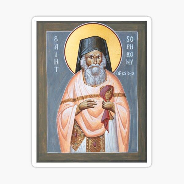 St Sophrony of Essex Sticker