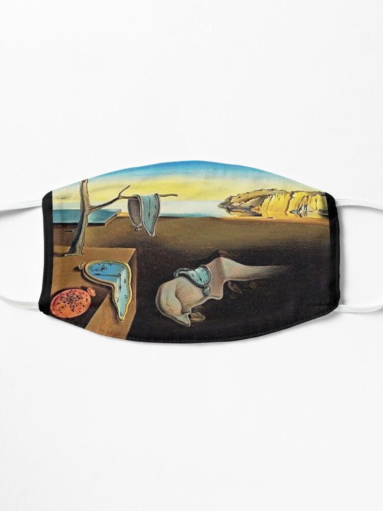 Alternate view of DALI, Salvador Dali, The Persistence of Memory, 1931. Mask