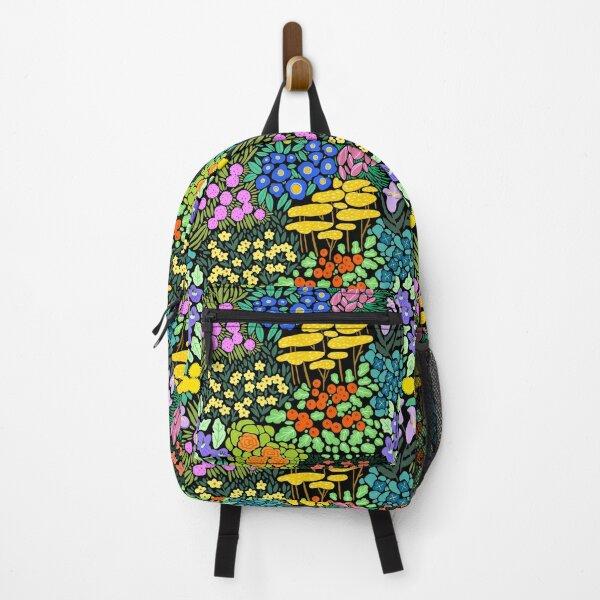 Field of Flowers (Black) Backpack