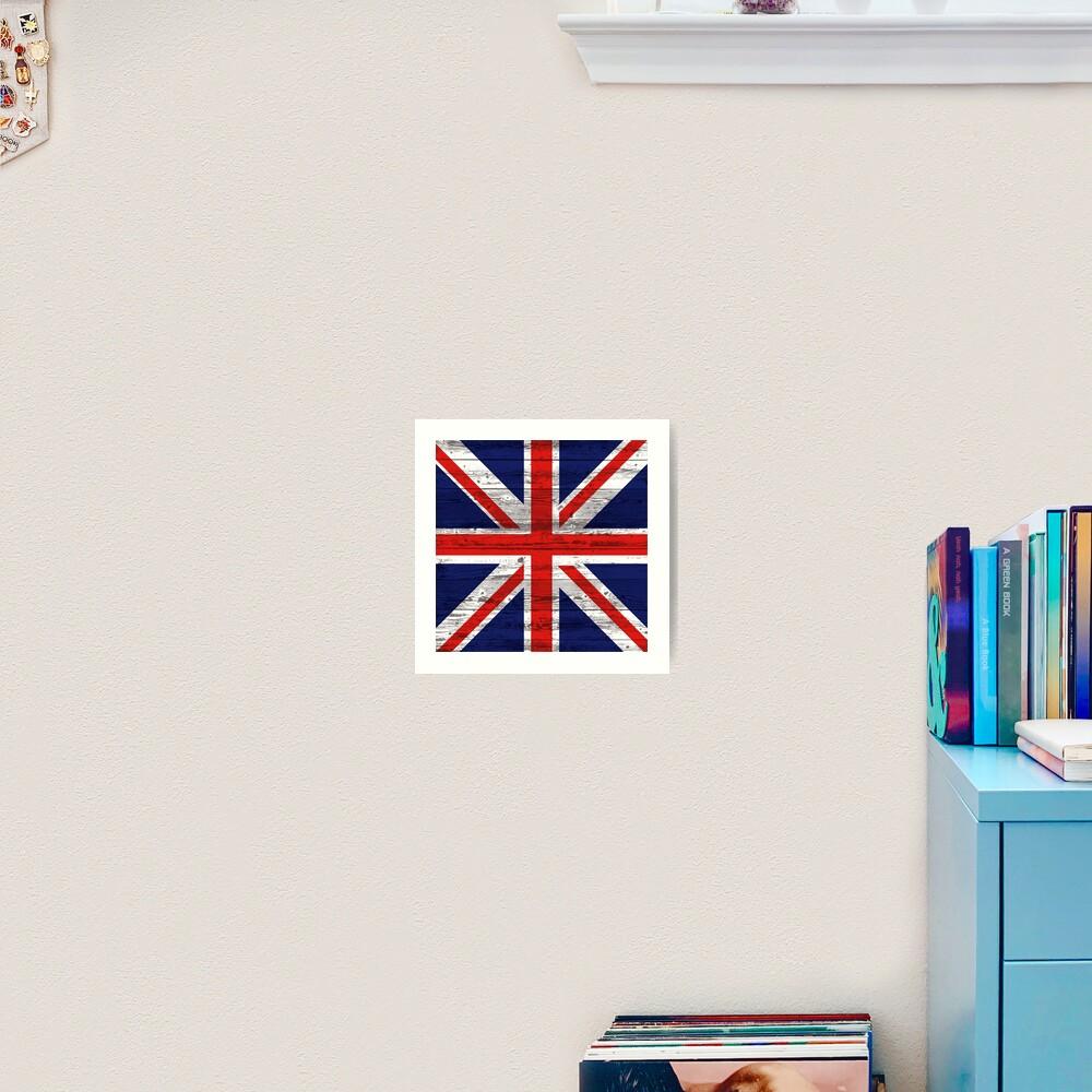 Union Jack flag Art Print