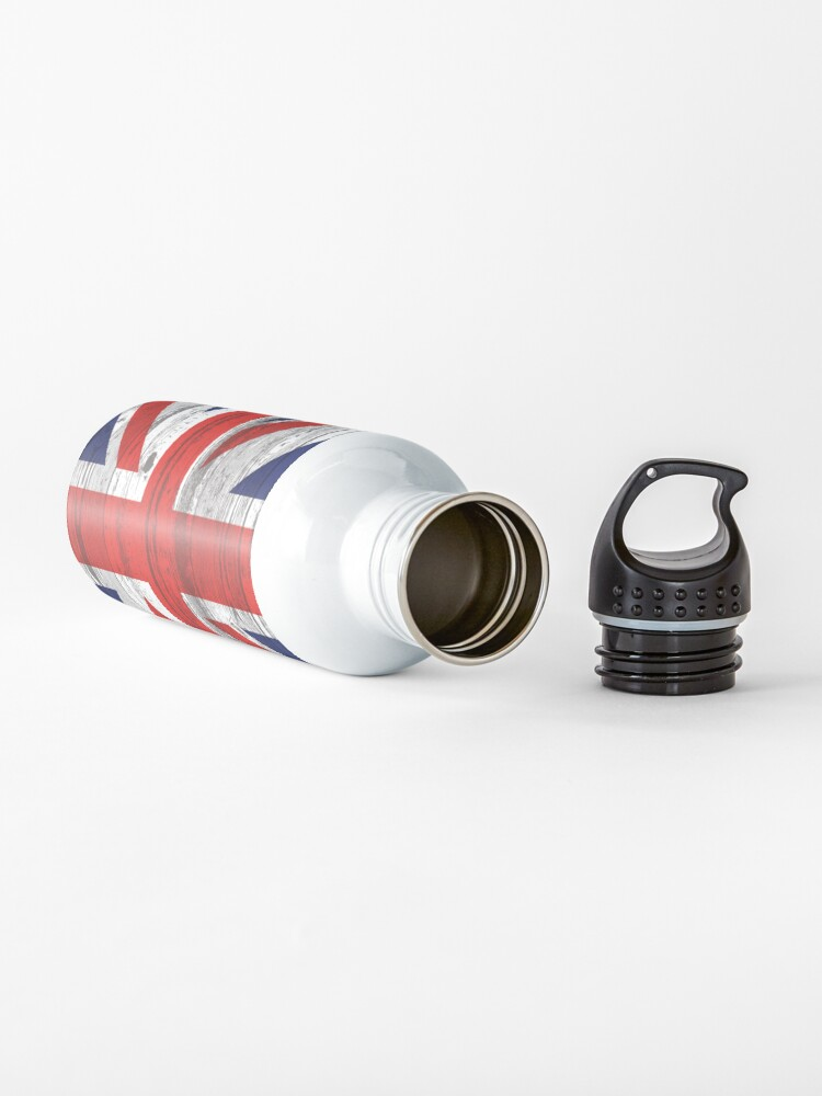 Alternate view of Union Jack flag Water Bottle