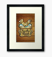Choco Billy's Chocobo Ranch Framed Print