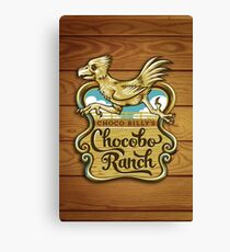 Choco Billy's Chocobo Ranch Canvas Print
