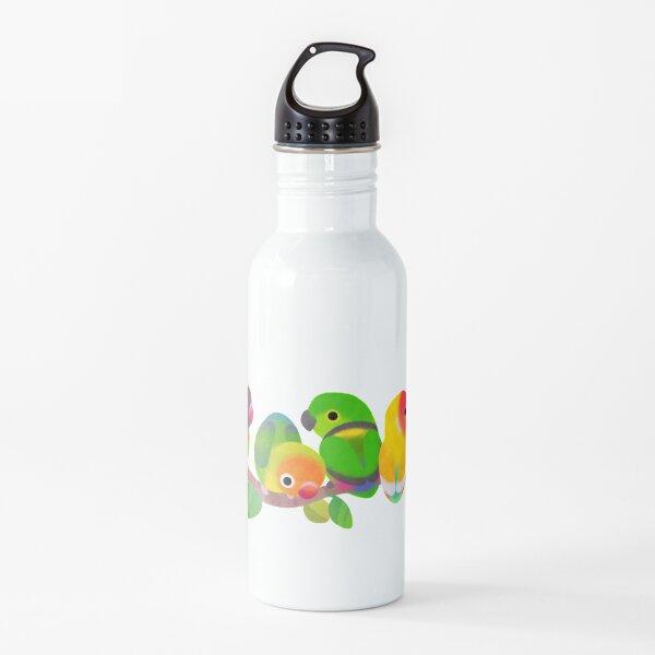 Lovebird - dark Water Bottle