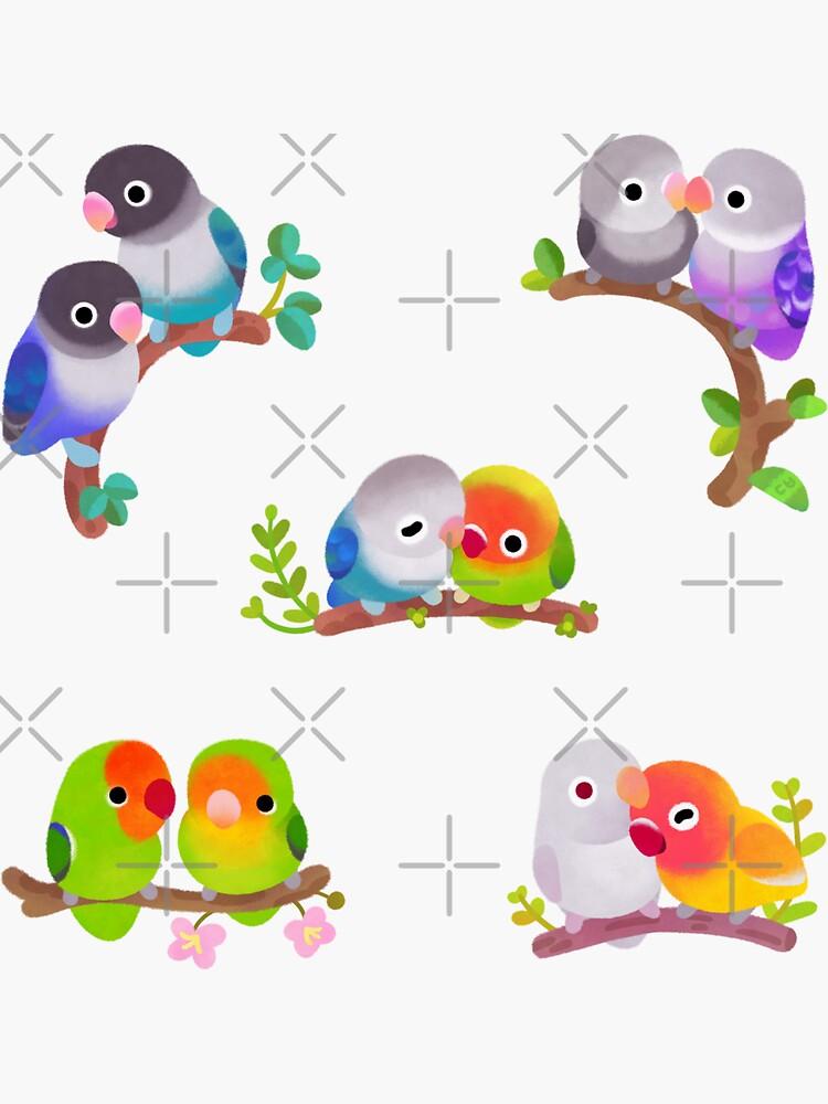 Lovebird - dark by pikaole