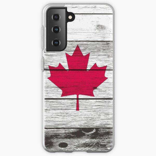 Canadian flag Samsung Galaxy Soft Case