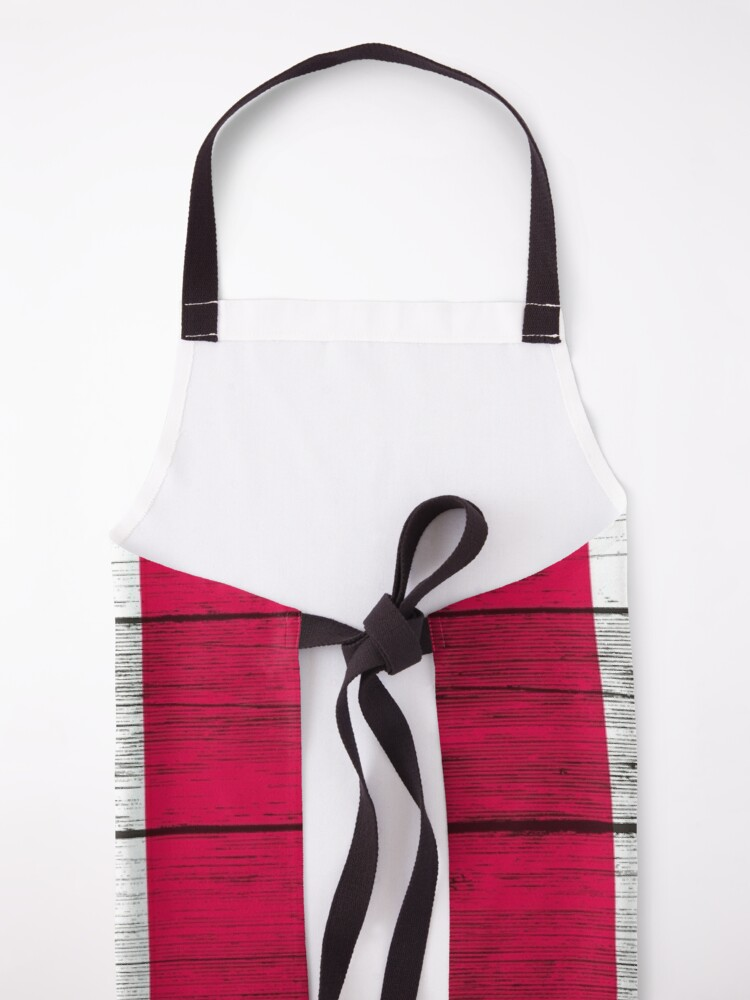 Alternate view of Canadian flag Apron
