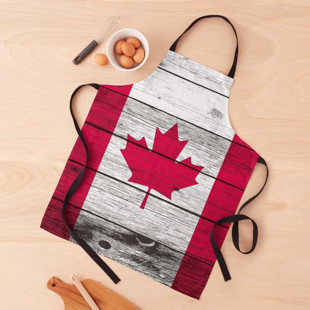 Canadian flag Apron
