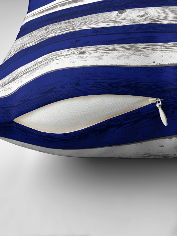 Alternate view of Greece flag Throw Pillow