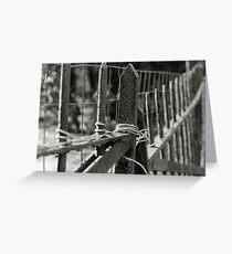 Erosion [3/5] (35mm Film) - Philadelphia, PA Greeting Card
