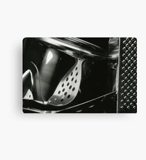 Metallic Reflections [2/8] (35mm Film) Canvas Print