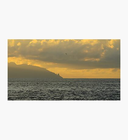 Sunset in paradise Photographic Print