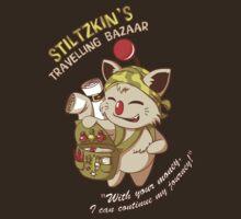 Stiltzkin's Travelling Bazaar | Unisex T-Shirt