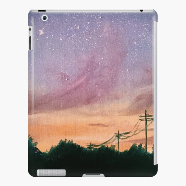 lilac sunset iPad Snap Case