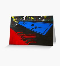 Keyboard Whirl Greeting Card