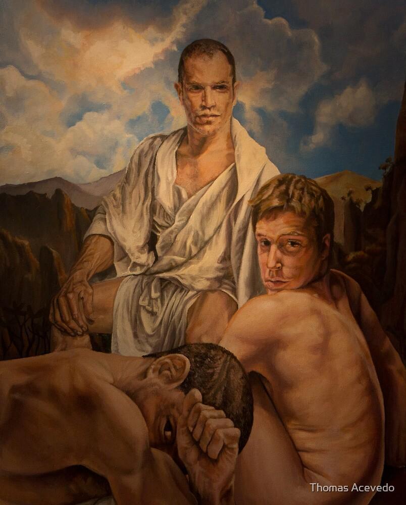 """Milaripa "". 24x 30 acrylic  by Thomas Acevedo"