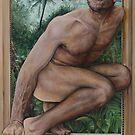 Leaving Paradise  acrylic on canvas  by Thomas Acevedo