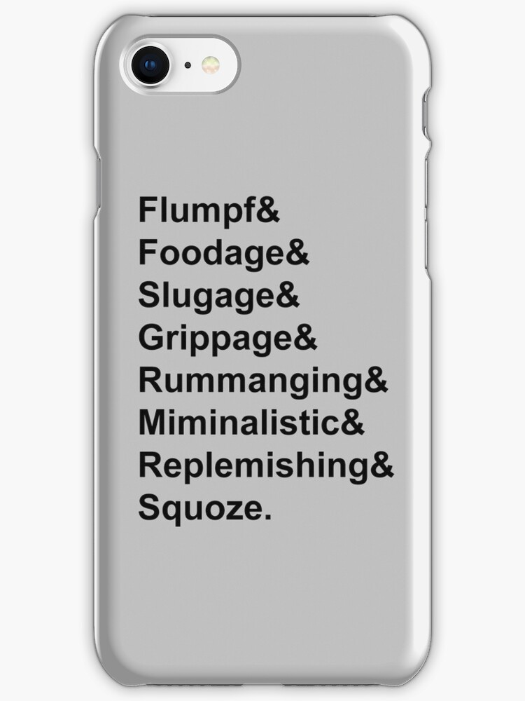 Karl Pilkington Vocabulary Case by CongressTart