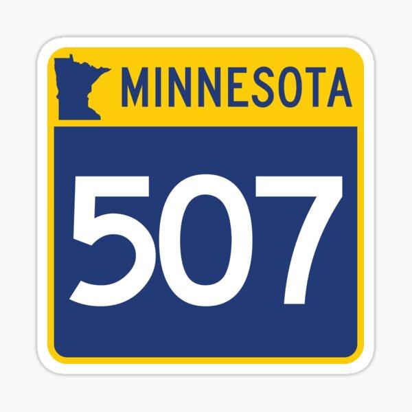 Minnesota State Route 507 (Area Code 507) Sticker
