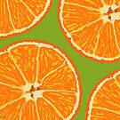 oranges dark lime by hennydesigns