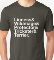 Tortall heroines: Titles Unisex T-Shirt