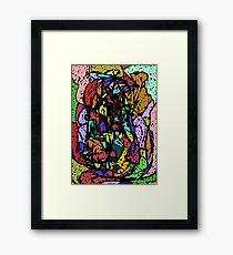 Sex, Drugs and Rockin' Roll Framed Print