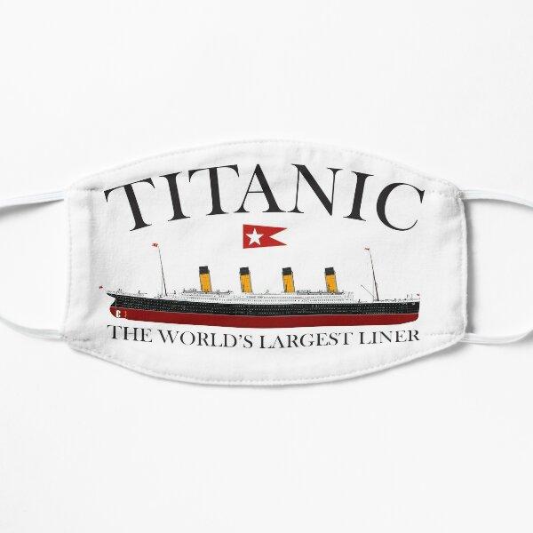 Titanic. 1912, RMS Titanic, Cruise, Ship, Disaster. Flat Mask