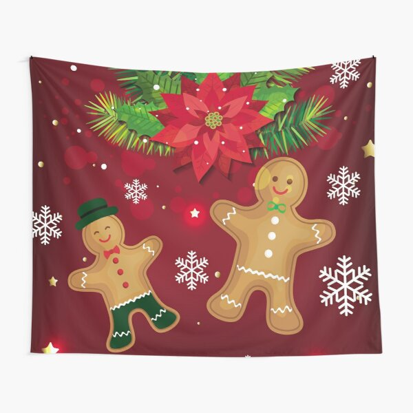 gingerbread man Tapestry
