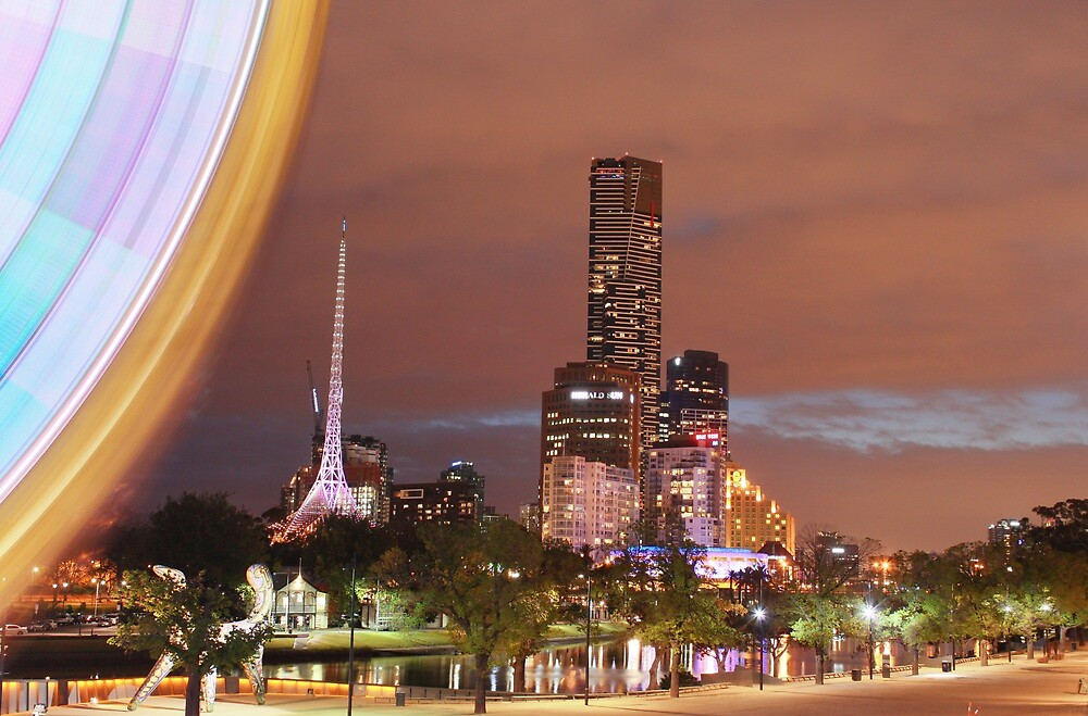 Melbourne by night by nicomelbourne