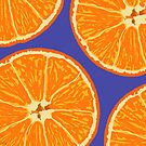 oranges blue by hennydesigns