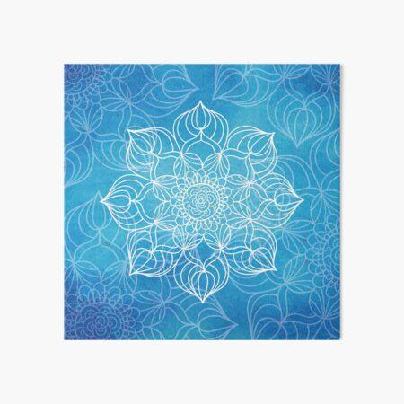 Blue mandala Lámina rígida