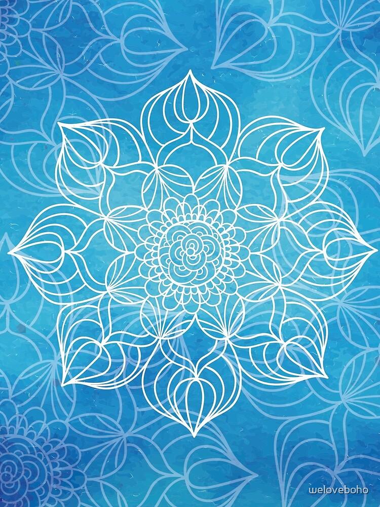 Blue mandala de weloveboho