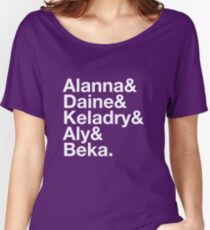 Heroines of Tortall Women's Relaxed Fit T-Shirt