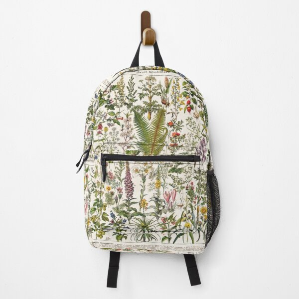 Adolphe Millot - Plantes Medicinales B - French vintage poster Backpack