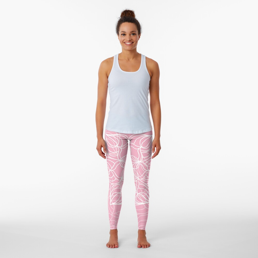 Pink mandala Leggings
