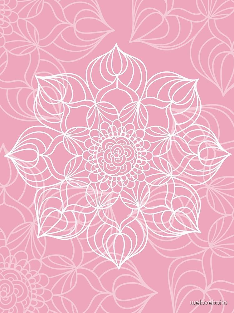 Pink mandala de weloveboho