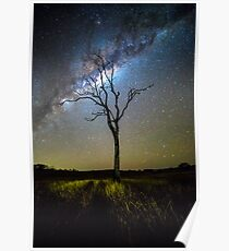 Flanagan Reserve Milky Way Poster