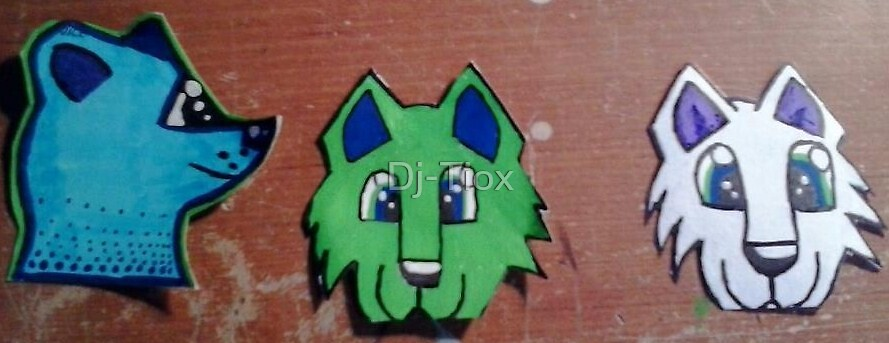 Sticker Examples ( custom available) by Dj-Tiox