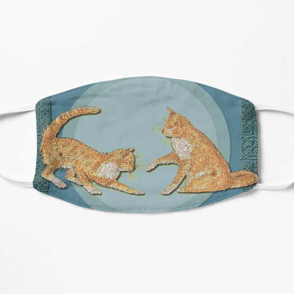 Celtic Cats - Ginger Cats Mask