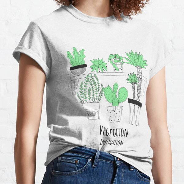 Vegetation Inclination (Large Graphic) Classic T-Shirt
