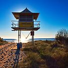 Lifeguard Tower 45 by John Sharp