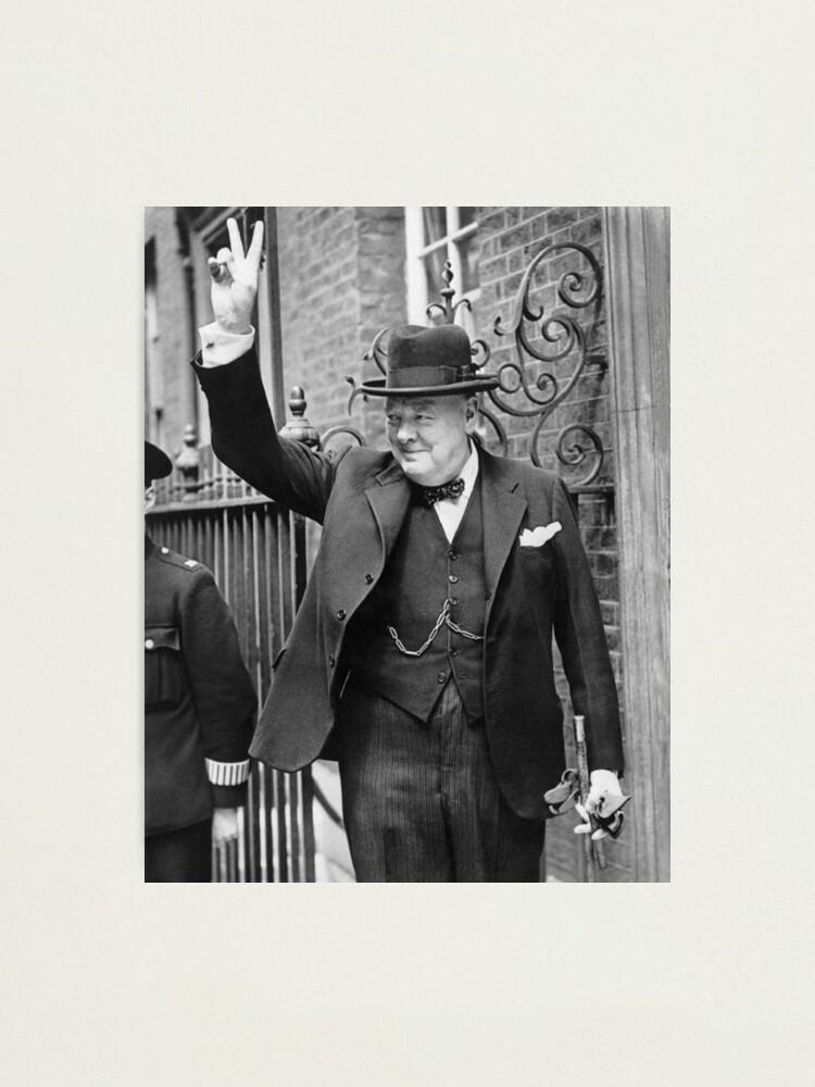 Winston Churchill Victory