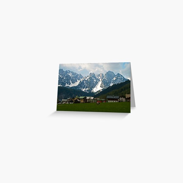 Mountain Voices Greeting Card