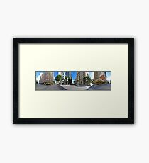 360° @ Adelaide & Creek Framed Print