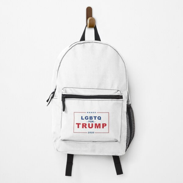 LGBTQ FOR TRUMP 2020 Backpack
