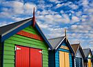 Brighton Beachhouses by JHP Unique and Beautiful Images