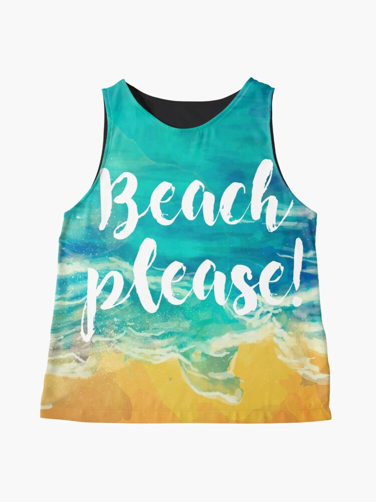 Vista alternativa de Blusa sin mangas Beach Please!