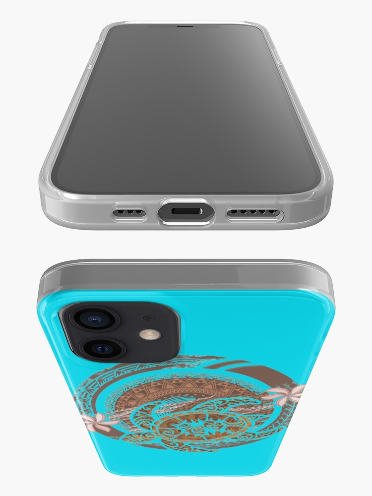 Alternate view of Vintage Circular Samoan Turtle Dive iPhone Case & Cover